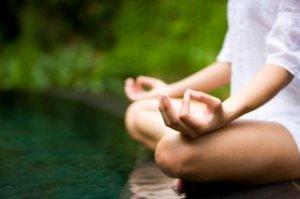 Meditation-Pose