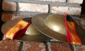 LARGE-13-RARE-HIGH-QUALITY-SOUND-TIBETAN-ROL-MO-CEREMONIAL-RITUAL-CYMBALS-3