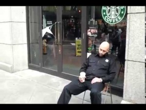 starbucks-security-guard-sleeping-on-duty-video