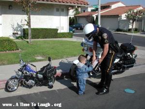 biker baby