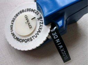 vintage label maker devotions by jan
